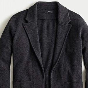JCrew Sophie open front sweater blazer NWT size XS